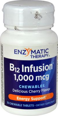 B12 Infusion&trade;<BR>30 Vegetarian tablets